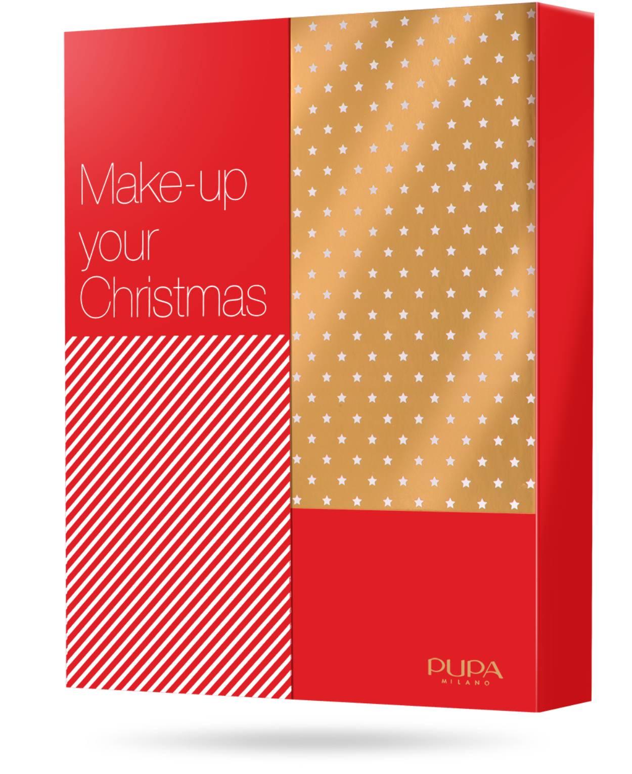 Calendario PUPA Milano 2021 Make Up Your Christmas
