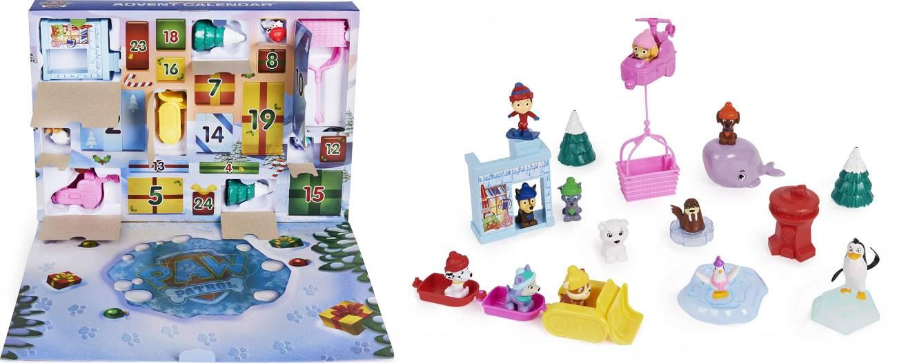 Calendario juguetes Patrulla Canina 2021