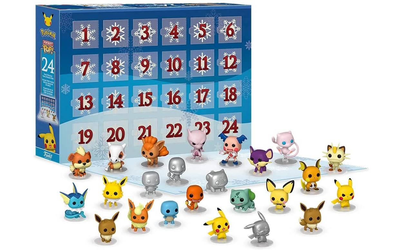 Calendario Pokemon Funko Pop