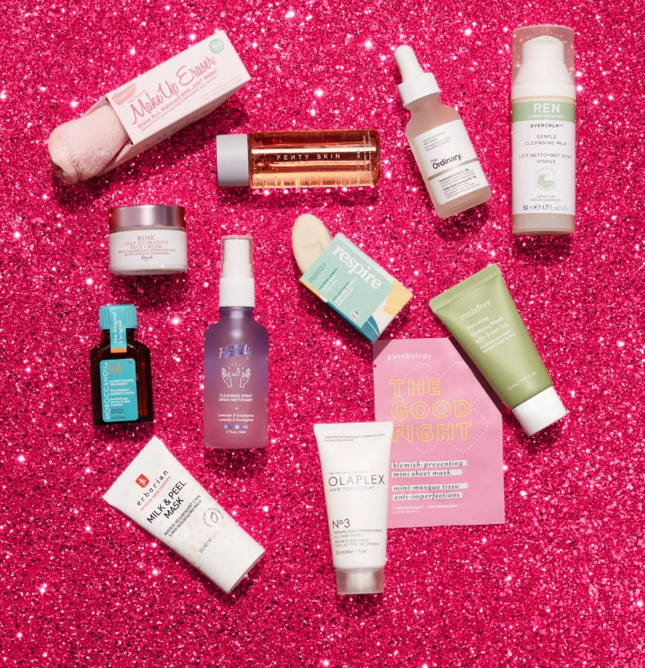 Calendario Sephora Favoritos 2021 productos cuidado piel