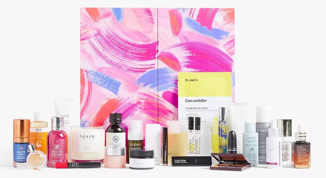 Calendario belleza John Lewis 2021 productos