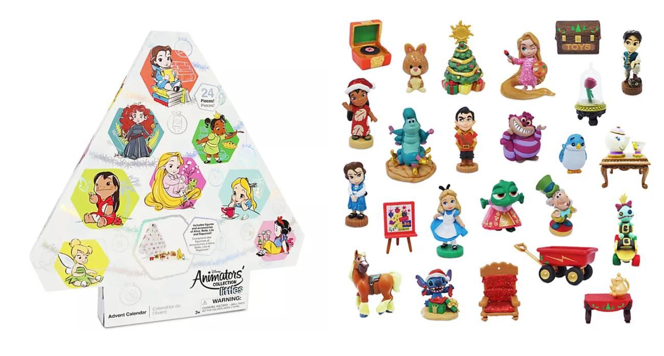 Calendario de Adviento Colección Animators de Disney Store 2020