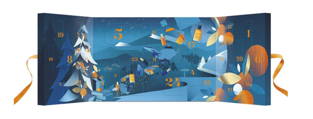 Calendario de Adviento Discovery Holidays 2020 de Atelier Cologne