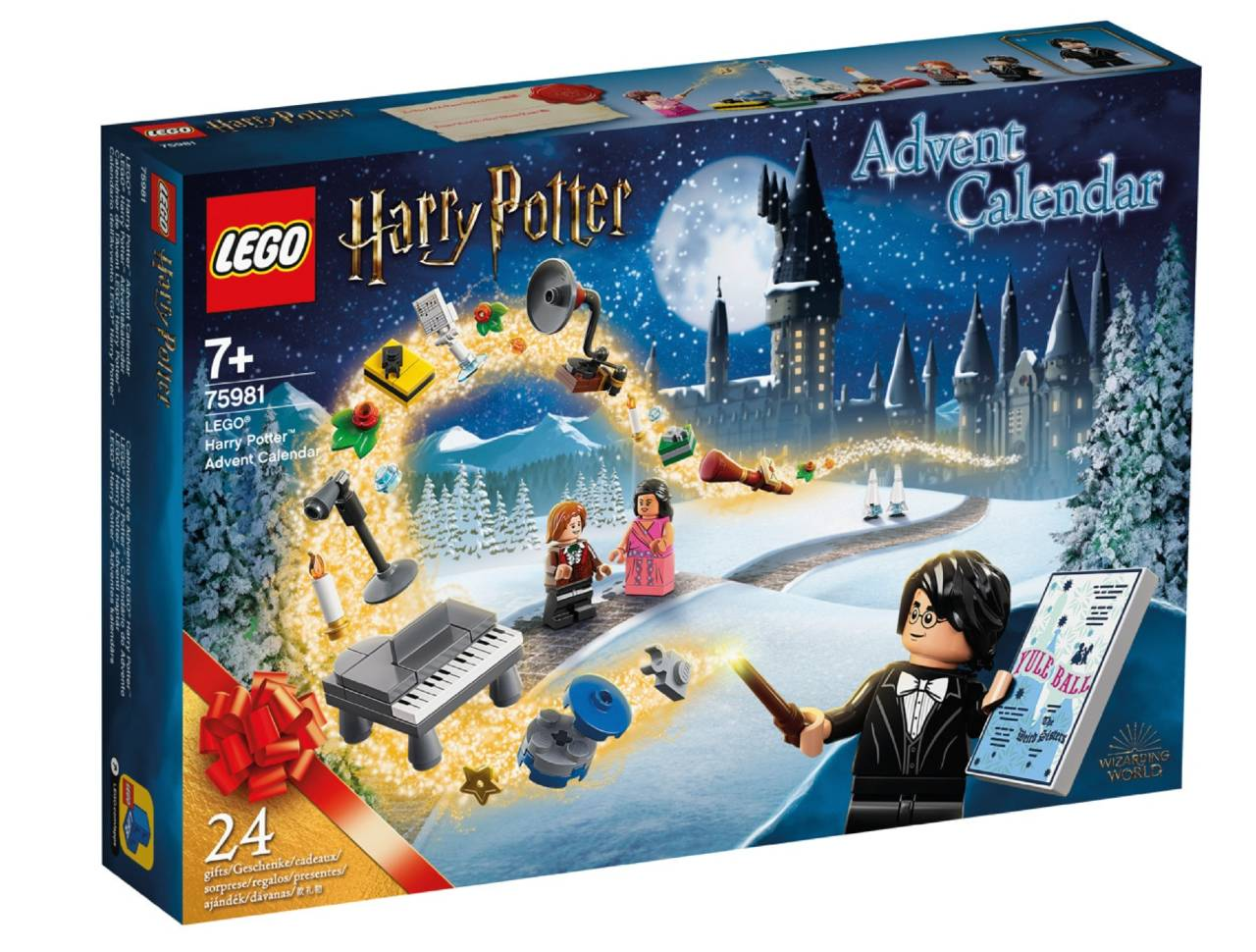 Calendario de Adviento Harry Potter de Lego 2020