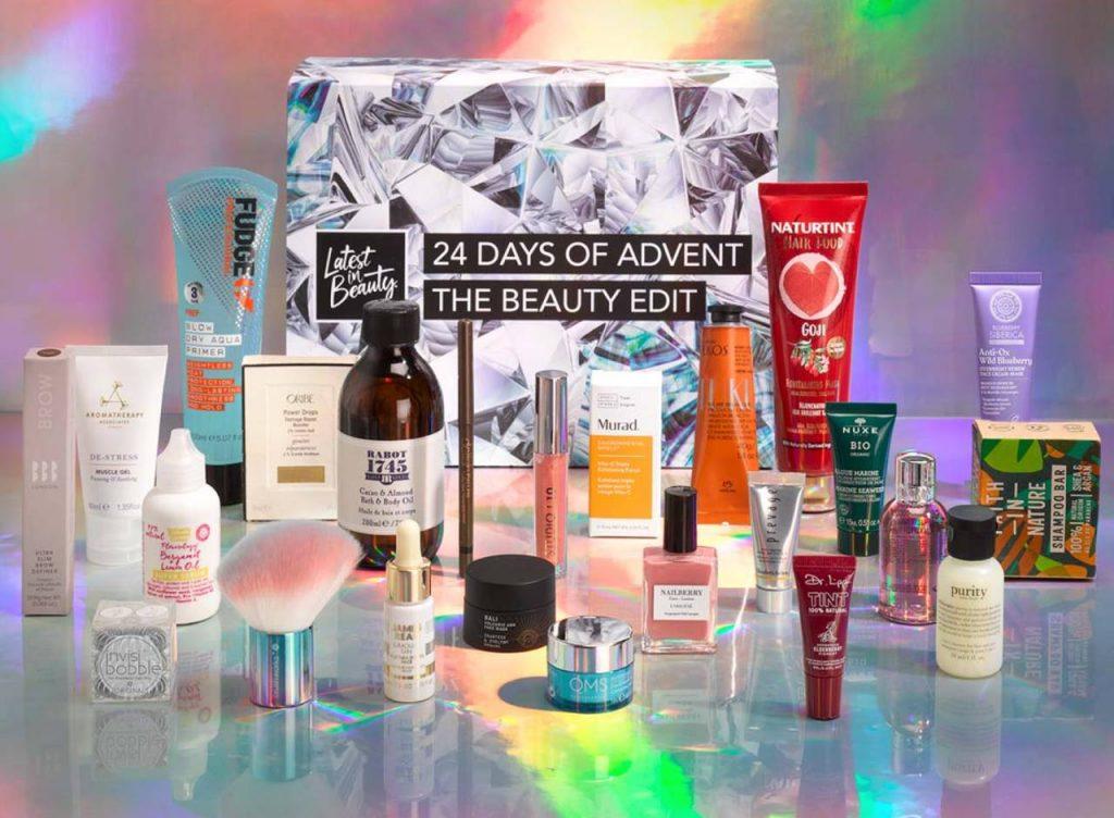 Calendario de Adviento Latest in Beauty 2021