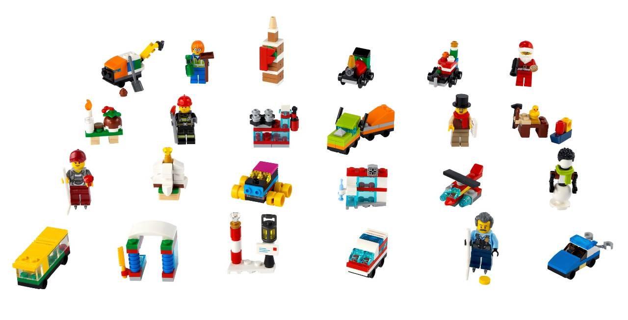 Calendario de Adviento Lego City 2021