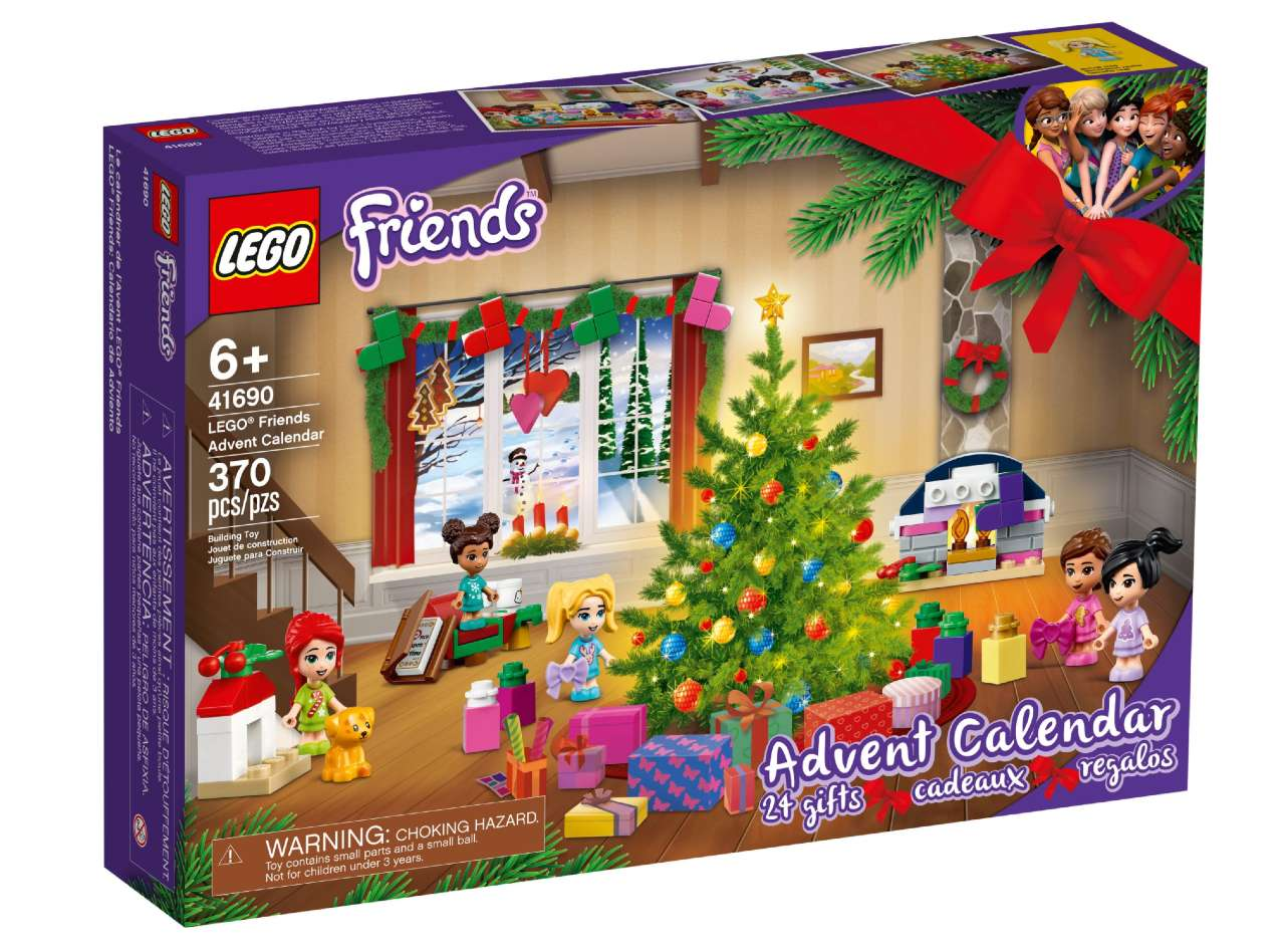 Calendario de Adviento Lego Friends 2021