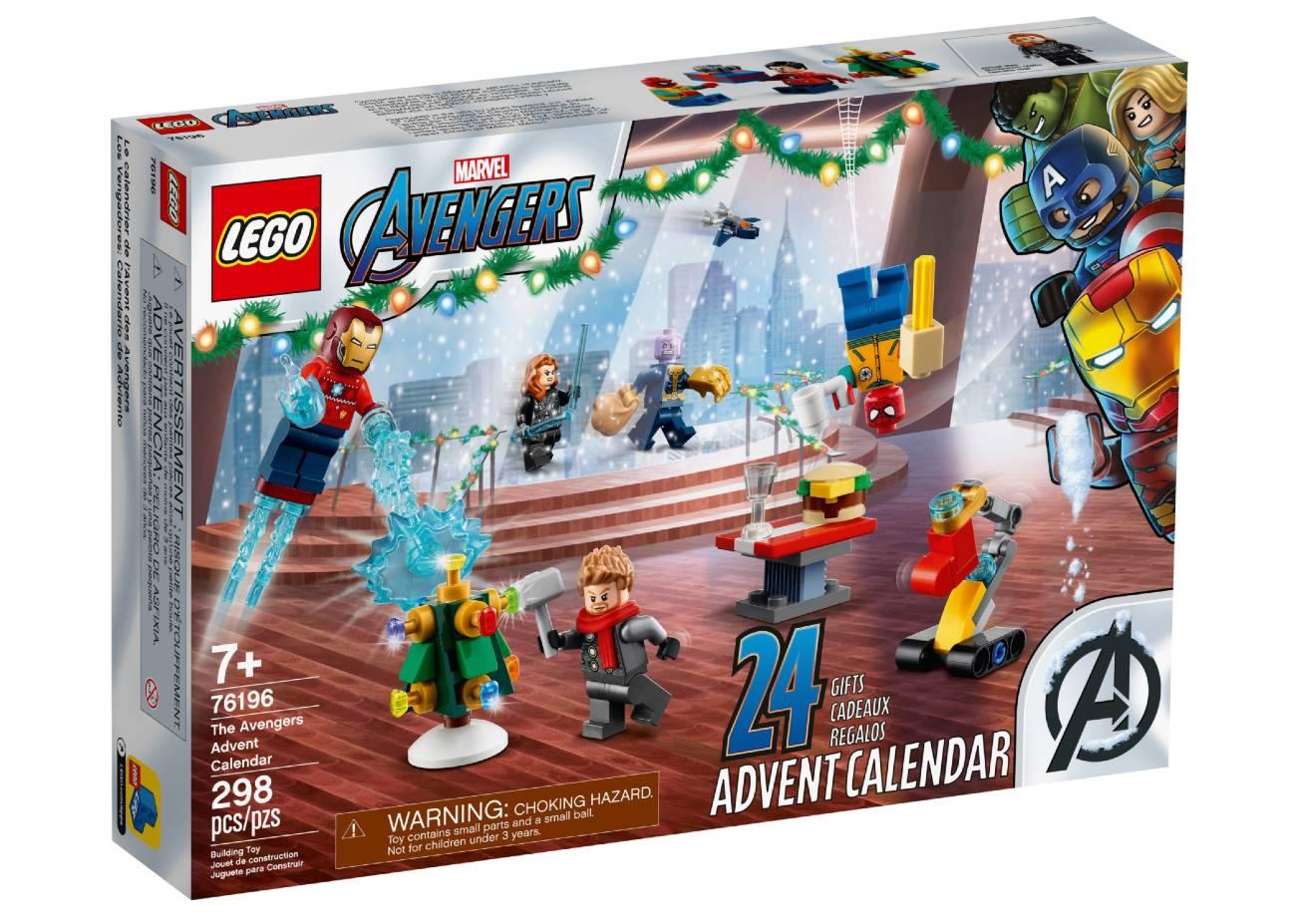 Calendario de Adviento Lego Marvel de Los Vengadores 2021