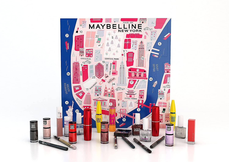 Calendario de Adviento Maybelline New York 2021