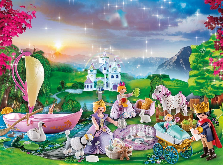 Calendario de Adviento Playmobil Pícnic Real