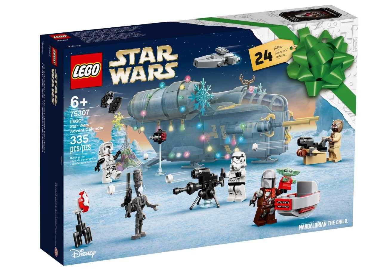 Calendario de Adviento Star Wars 2021 de Lego