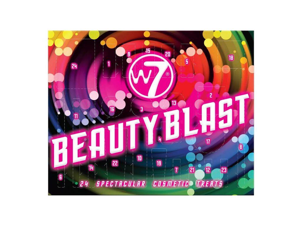 Calendario de Adviento W7 Beauty Blast 2021