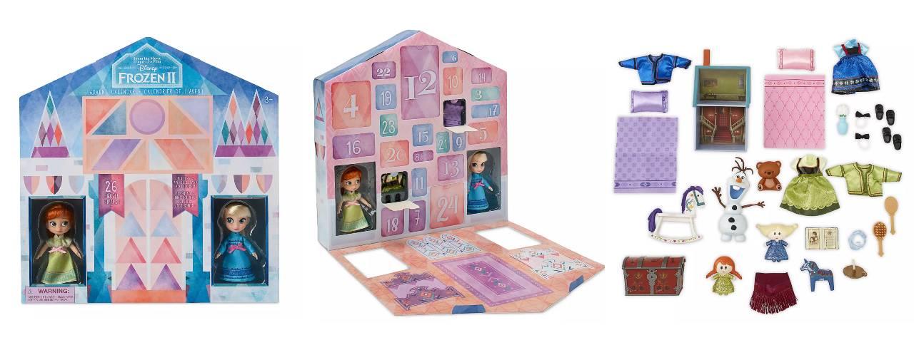 Calendario de Adviento de Frozen 2 de la tienda Disney Shop