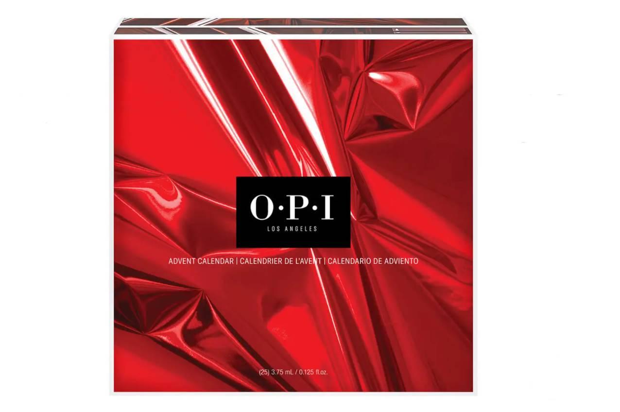 Calendario de Adviento de OPI uñas 2021