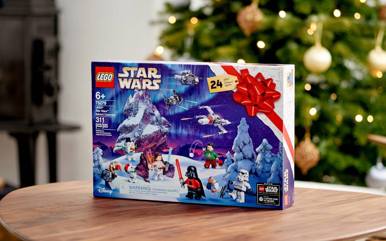 Calendario Star Wars 2020 de Lego