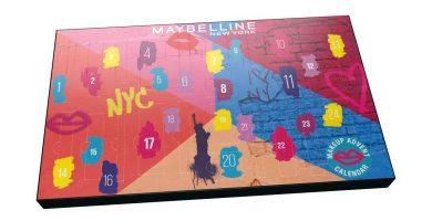 Calendario de adviento Maybelline 2020