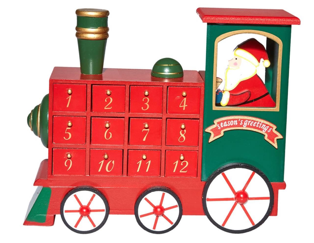 Calendario de adviento Tren Navidad