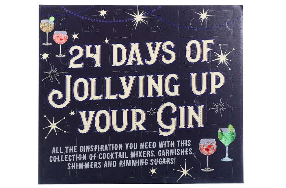 Calendario ginebra 24 Days of Jollying Up your Gin