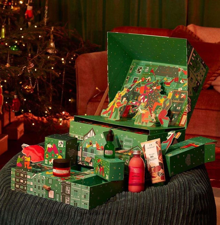 Calendario navideño The Body Shop 2021 Love & Joy