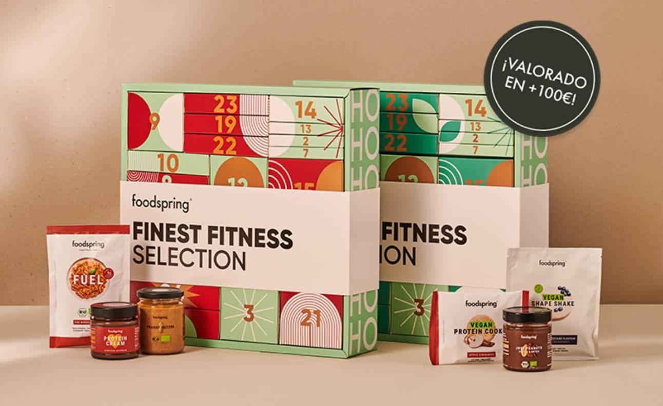 Calendarios Adviento Fitness Foodspring 2021