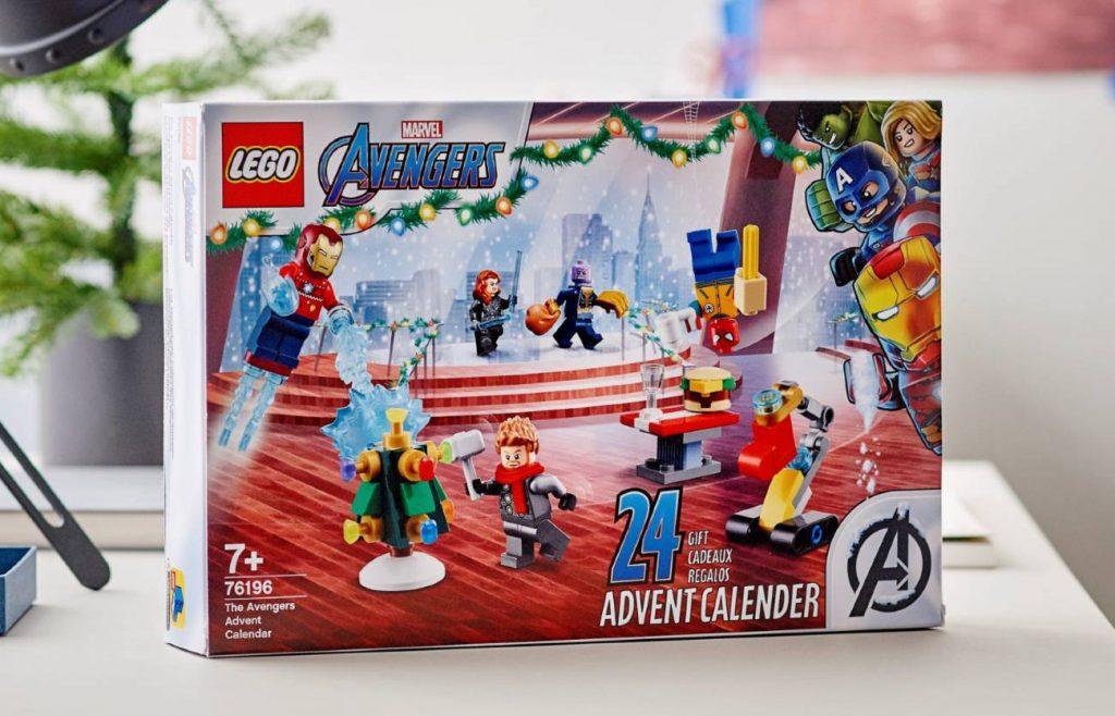 Calendarios de Adviento de Marvel