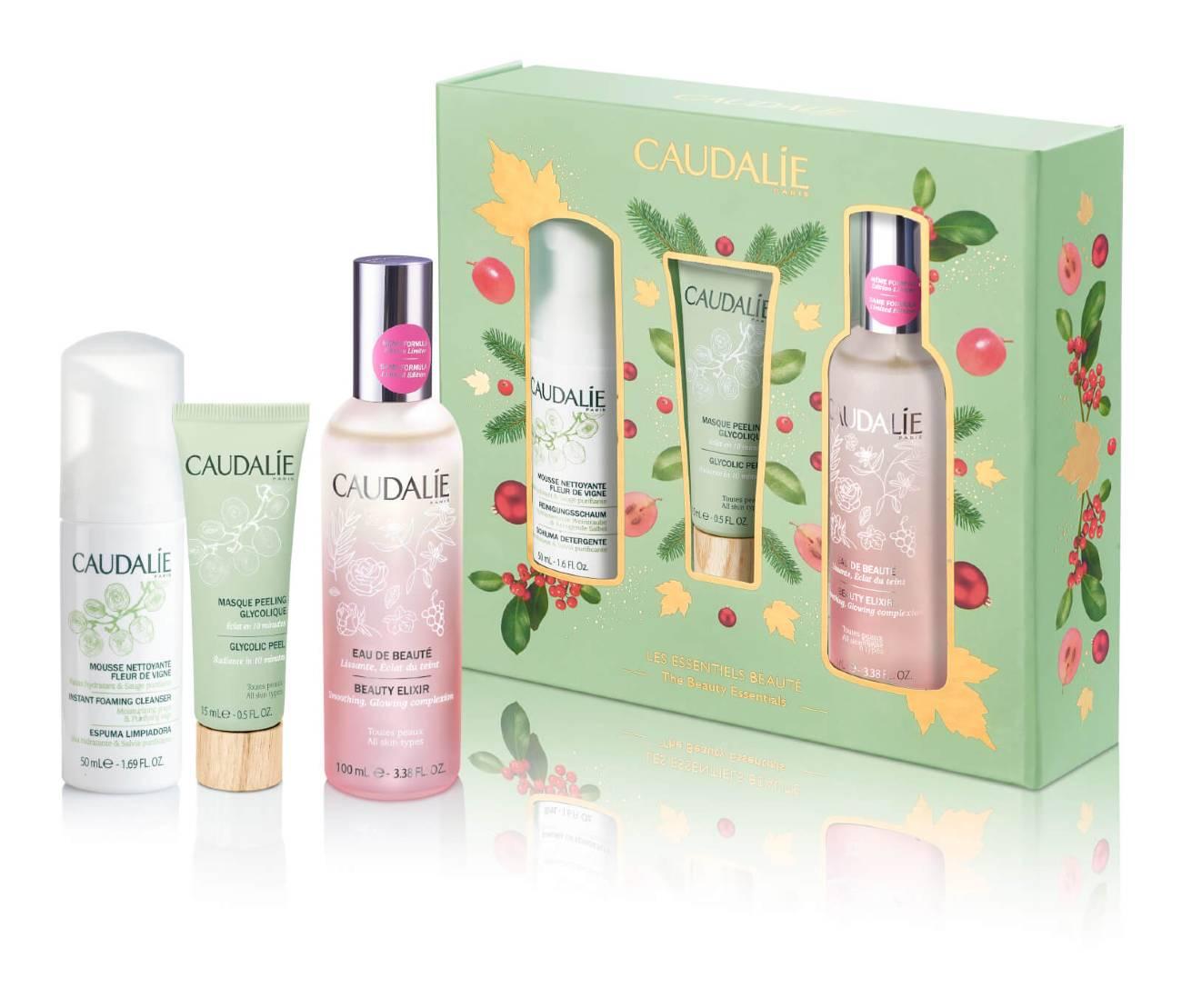 Caudalie Beauty Elixir Christmas Set The Beauty Essentials