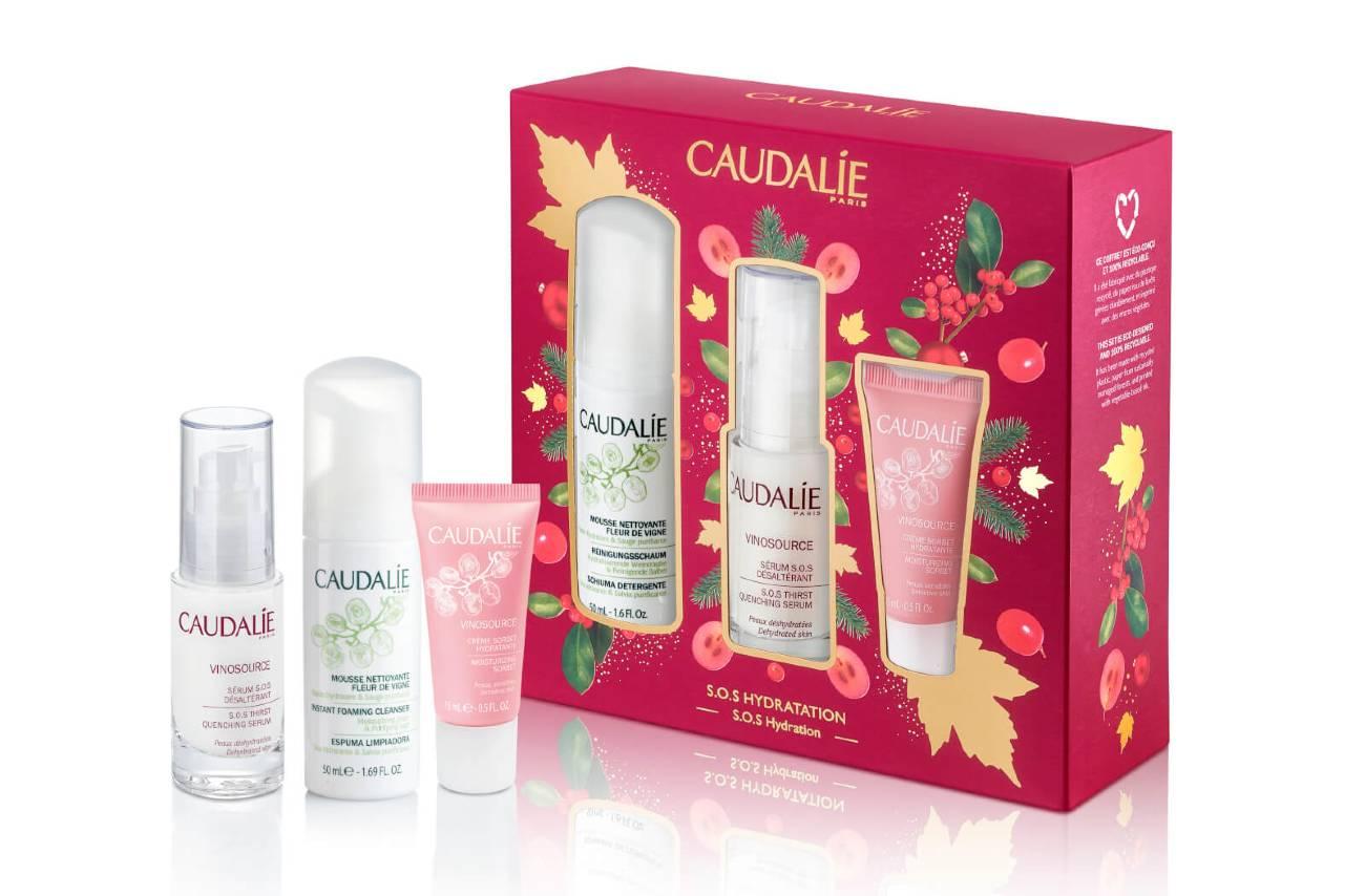 Caudalie Vinosource Serum Christmas Set S.O.S Hydration