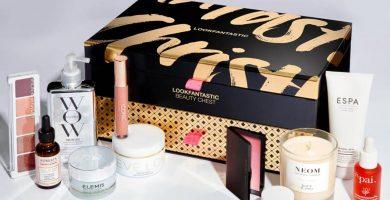 Cofre navideño de belleza Lookfantastic 2020
