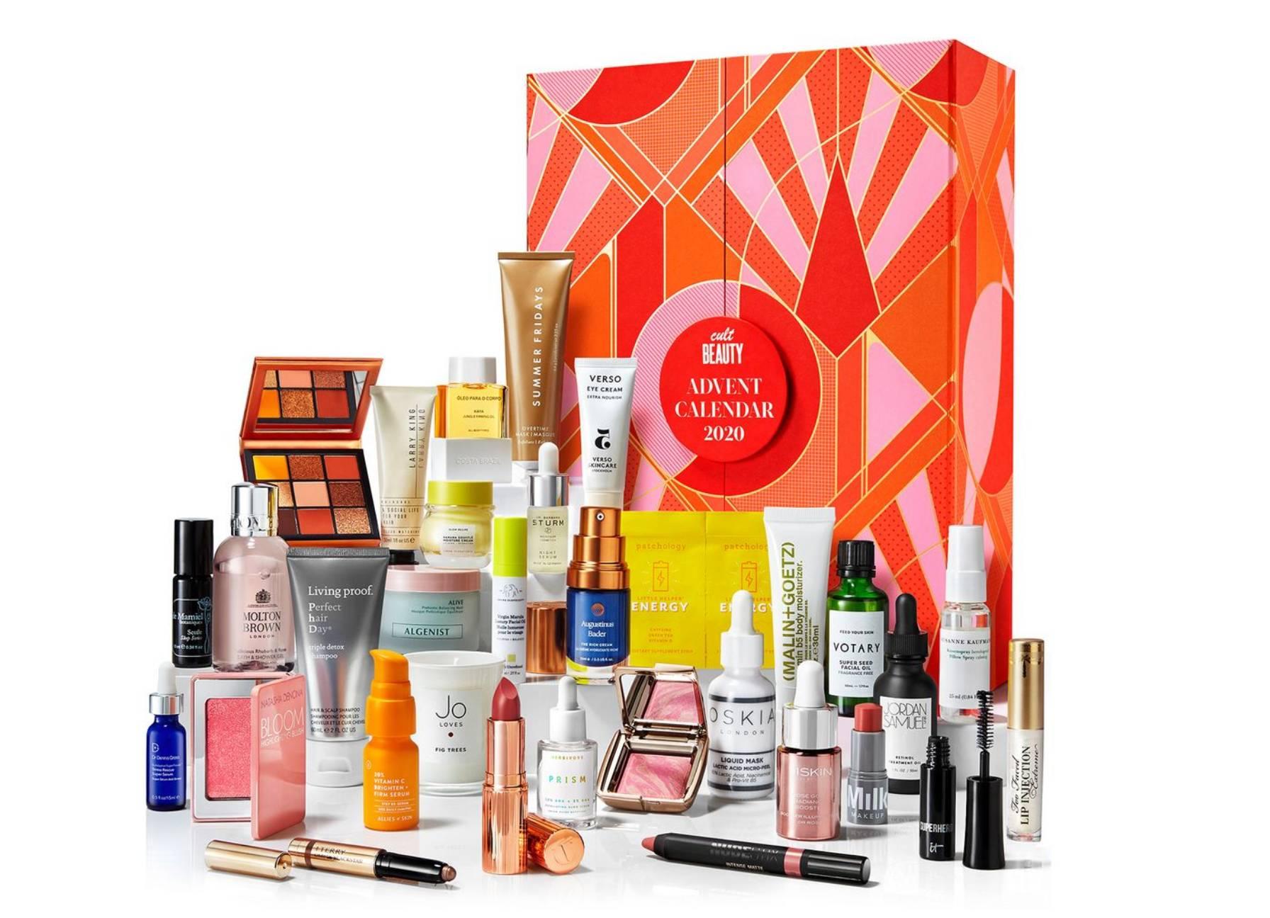 Cult Beauty 2020 calendario adviento productos