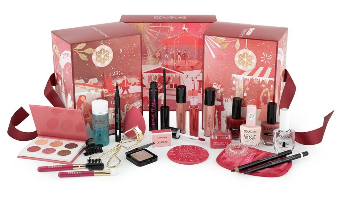 Douglas 2021 Calendario Maquillaje Lovely productos