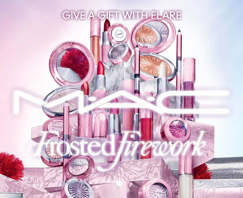 Frosted Firework MAC 2020 calendario adviento