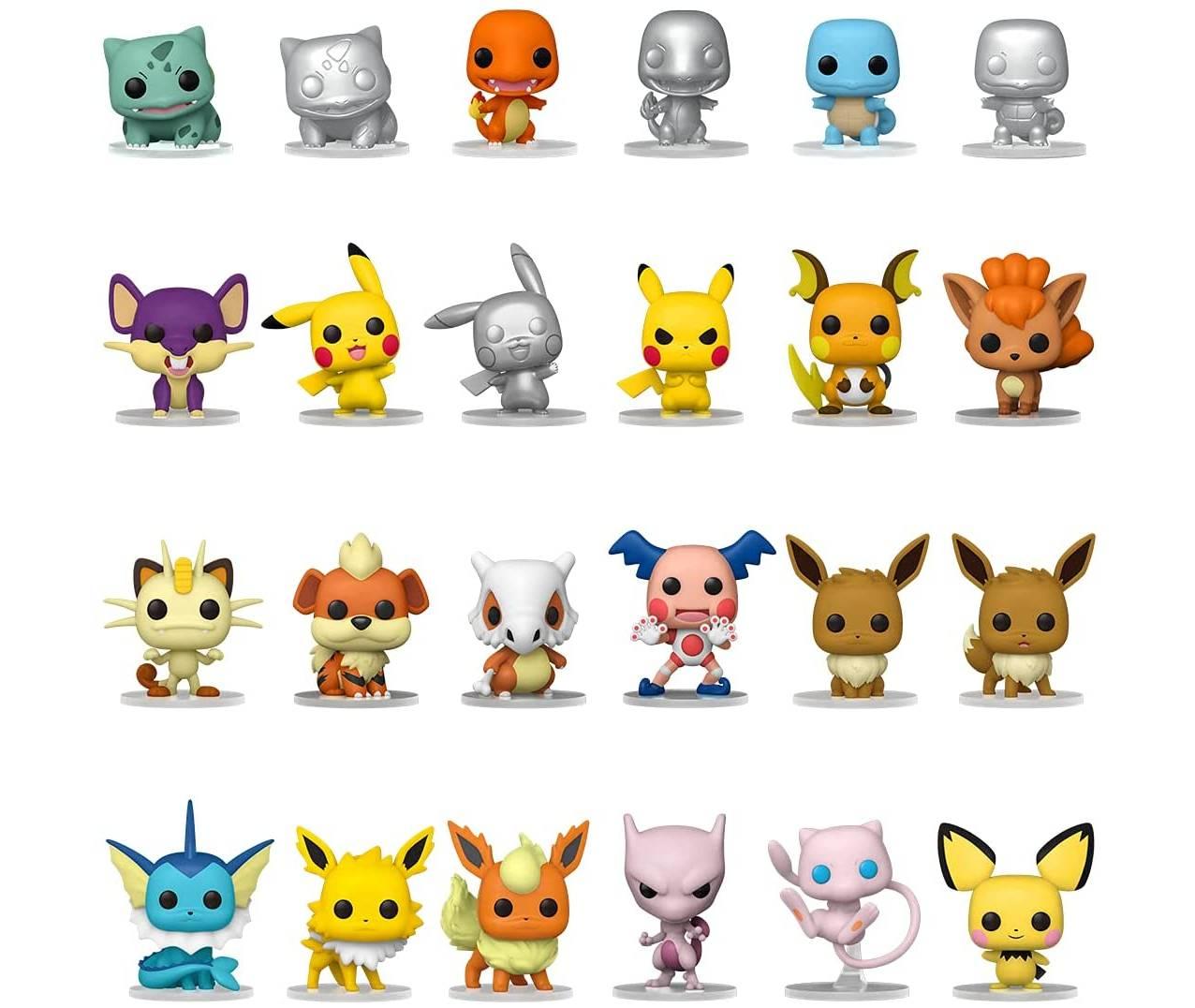 Funko Pop Pokemon Calendario