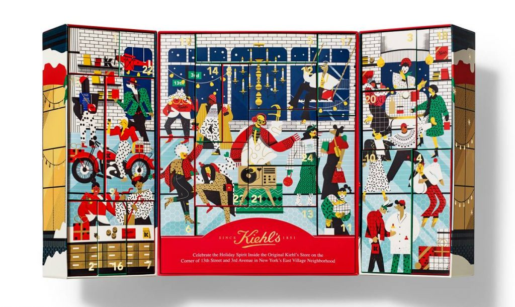 Kiehls 2020 calendario adviento