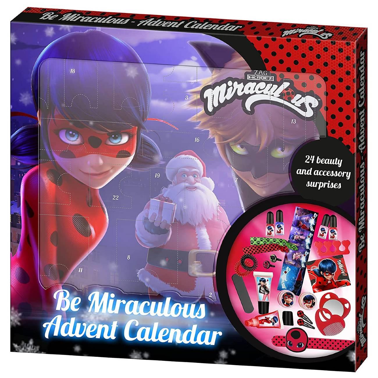 Ladybug Calendario Adviento 2021 Be Miraculous