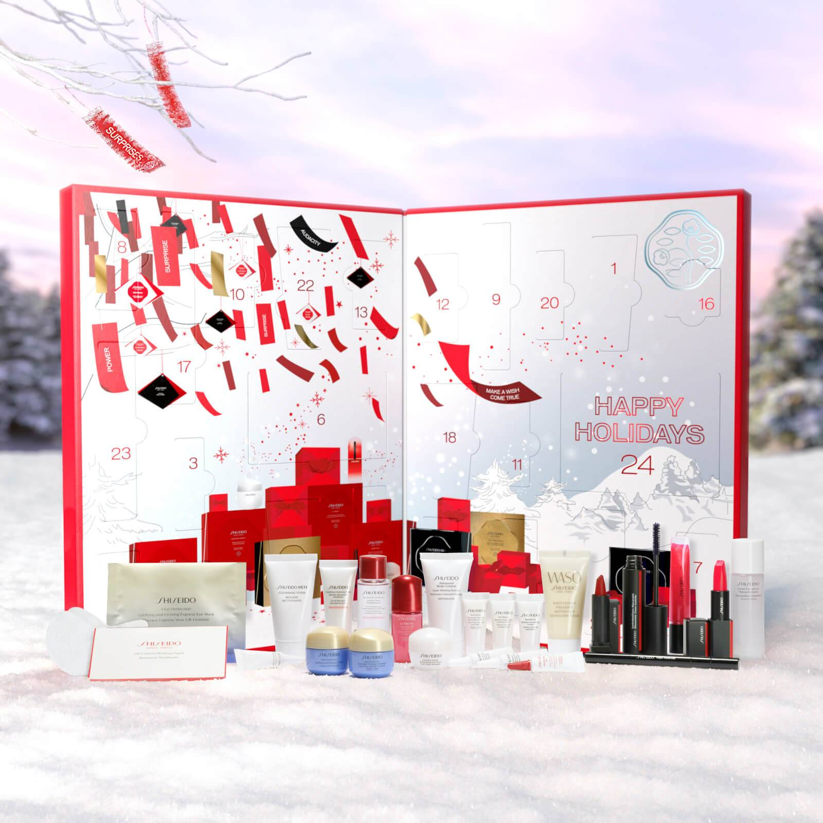 Shiseido 2020 calendario de adviento