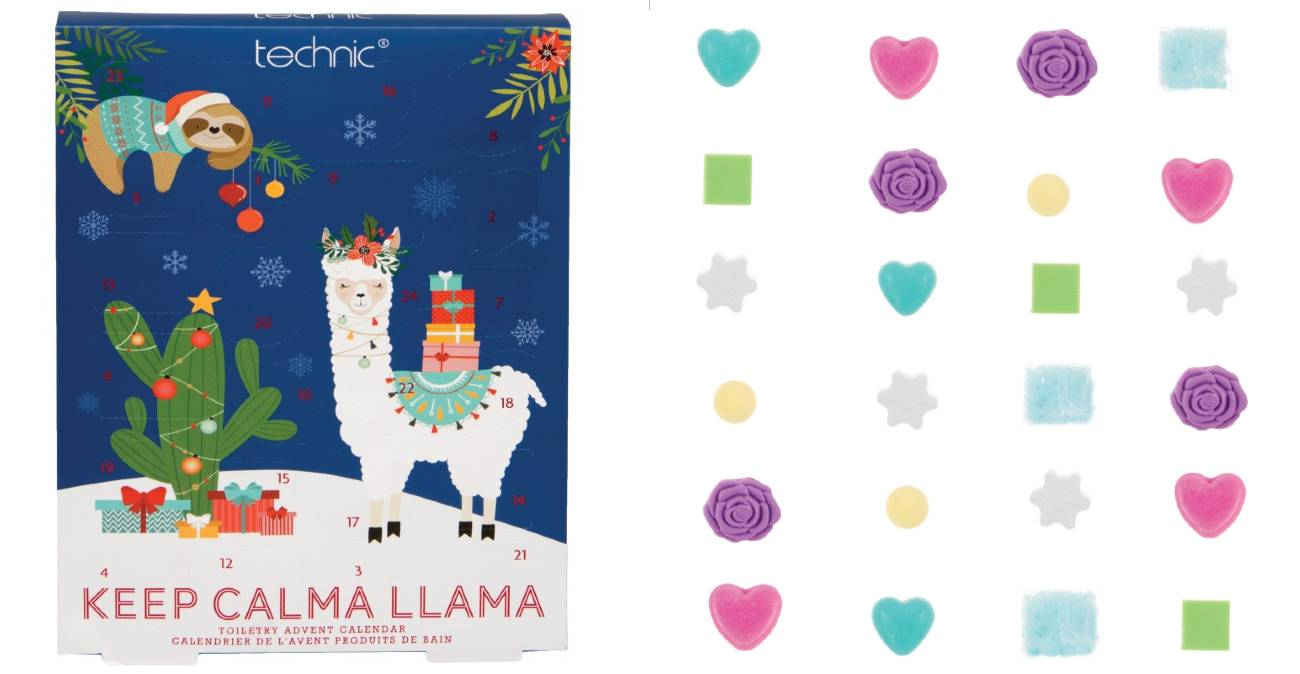 Technic Keep Calma Llama calendario 2020