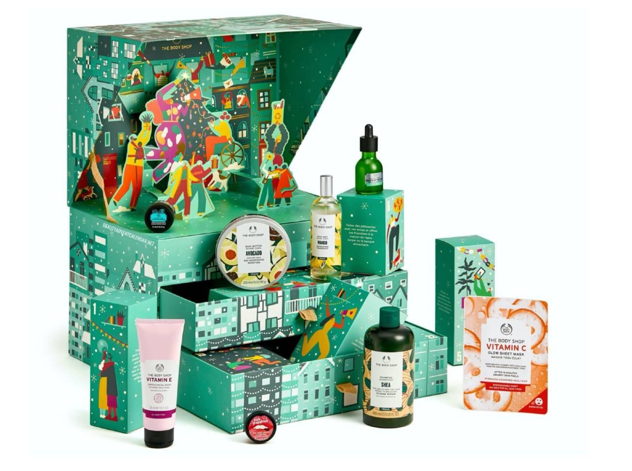 Calendario verde Body Shop 2021