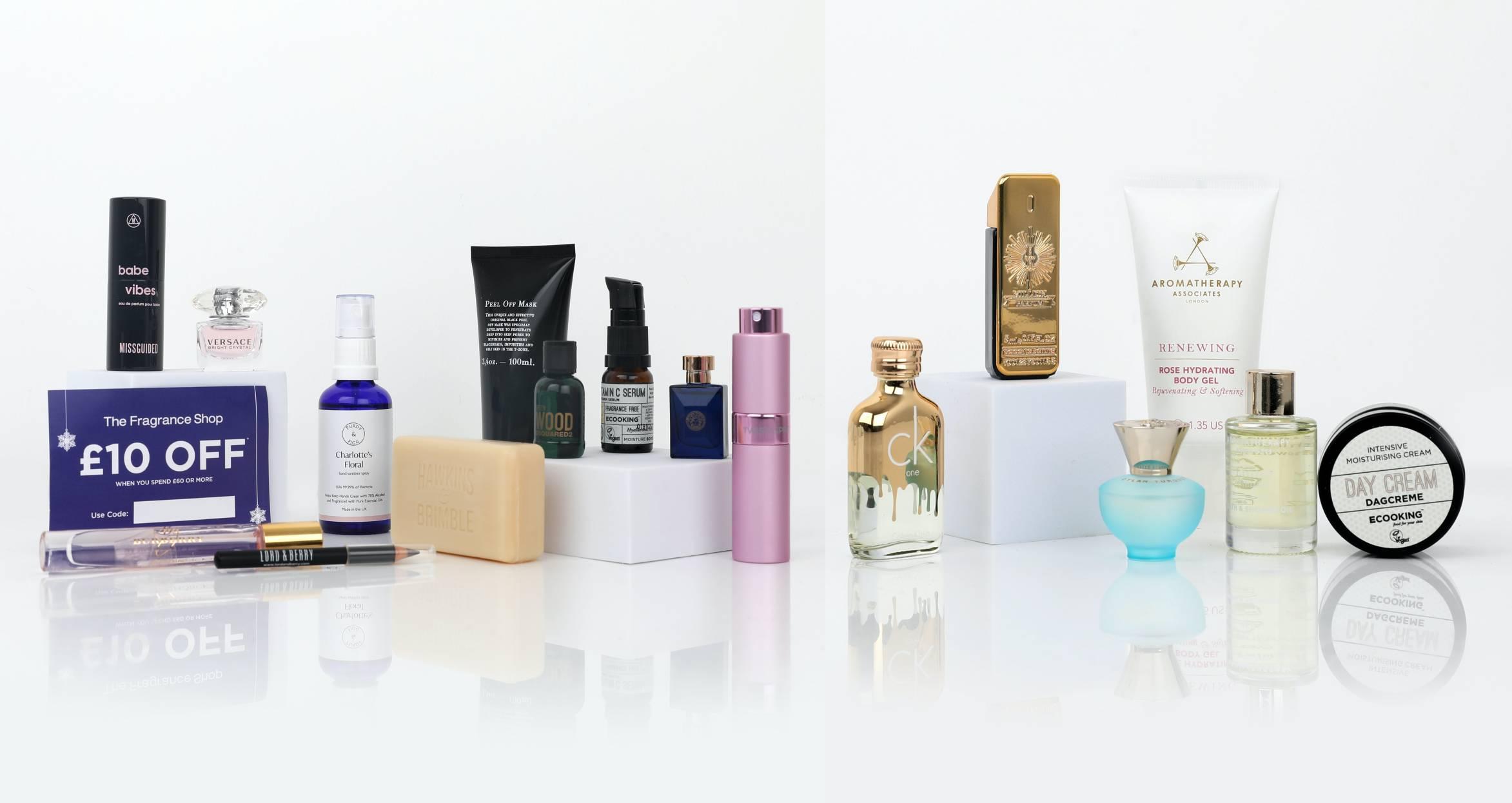 The Fragrance Shop 2021 calendario productos