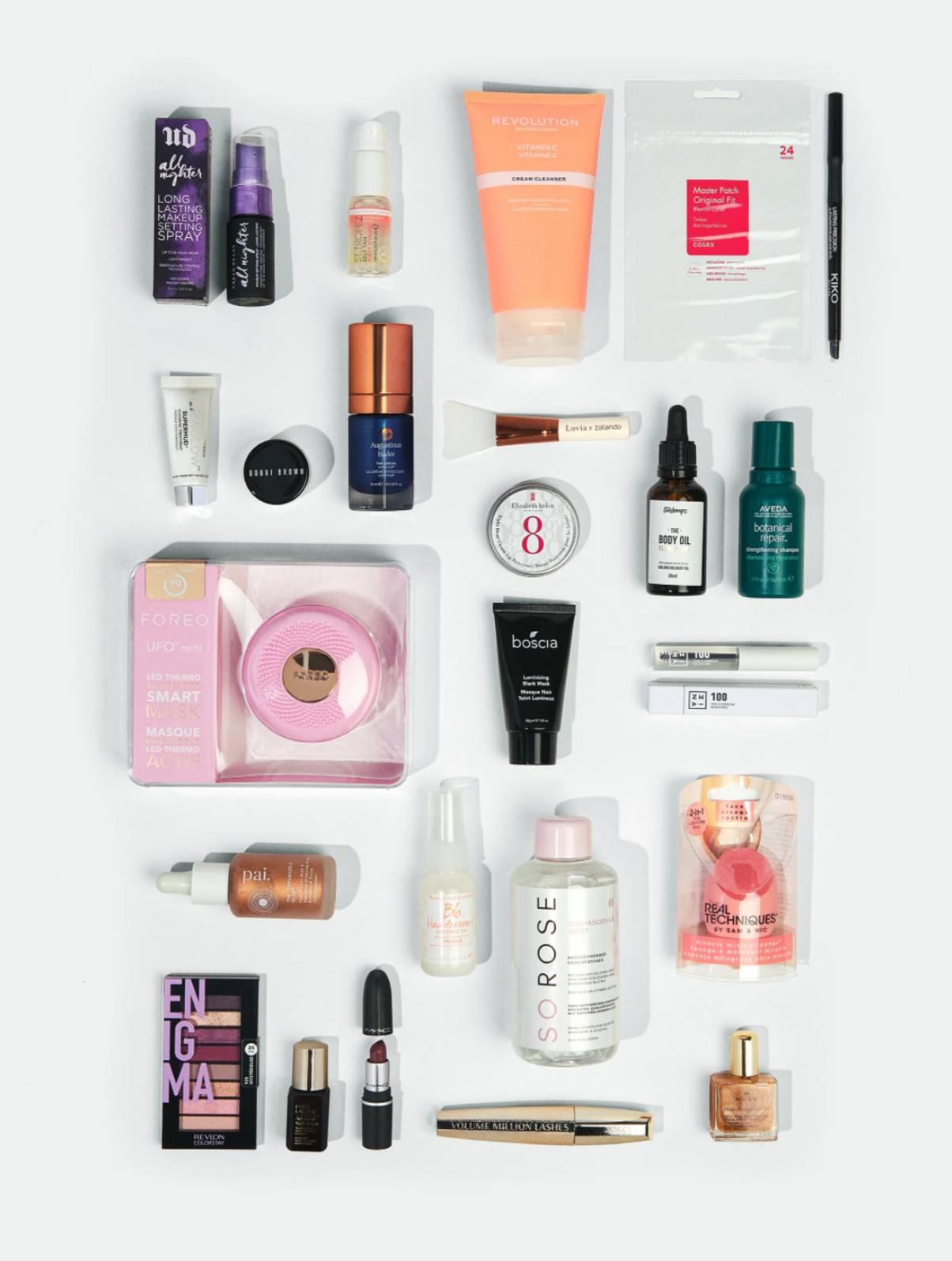 Zalando Beauty 2021 Calendario Adviento productos