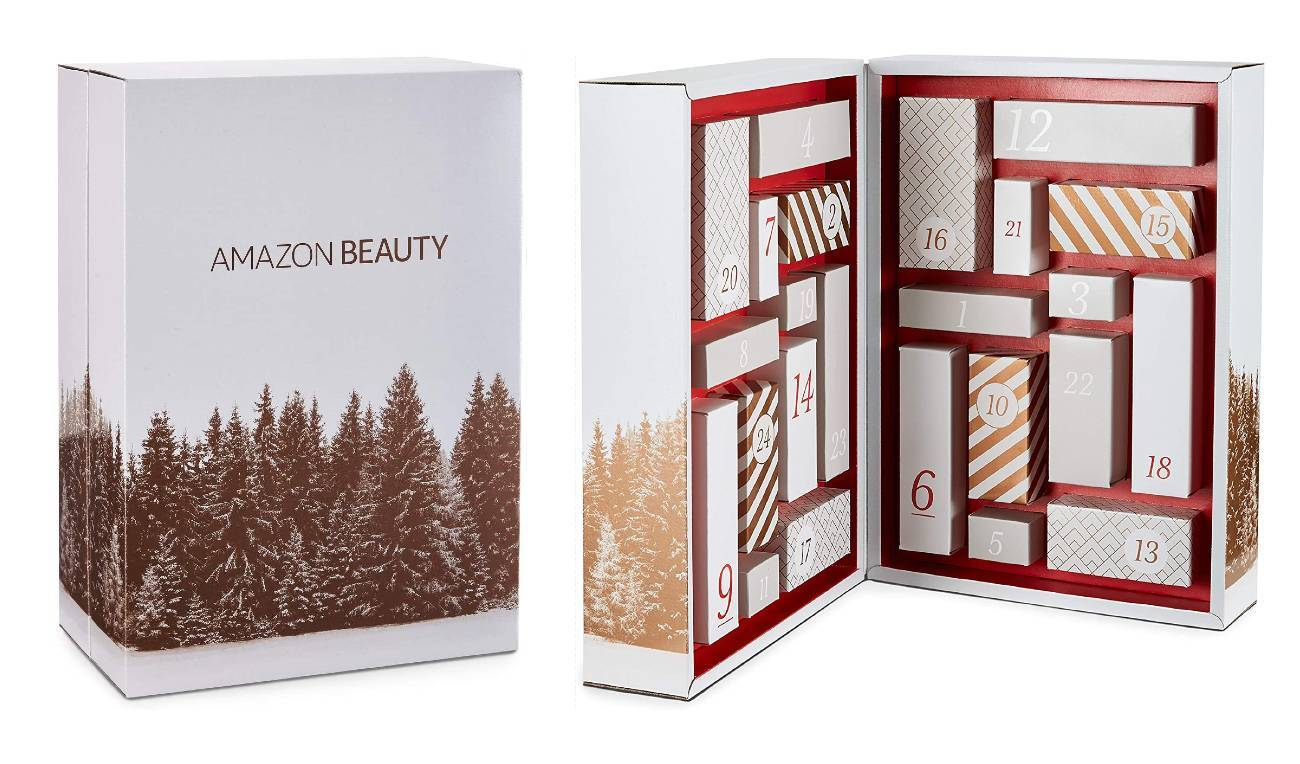 Amazon Beauty 2020 calendario de adviento