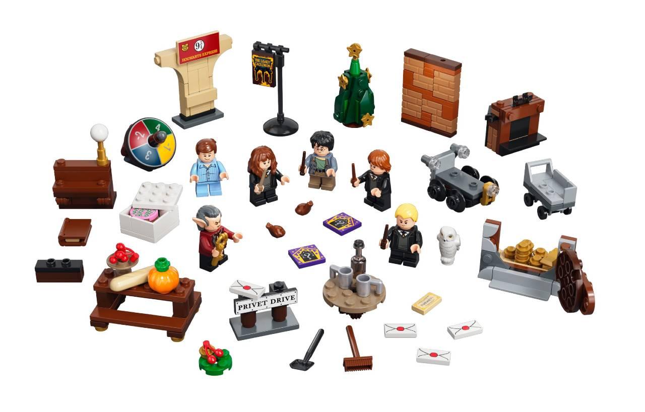 calendario Harry Potter de Lego 2021