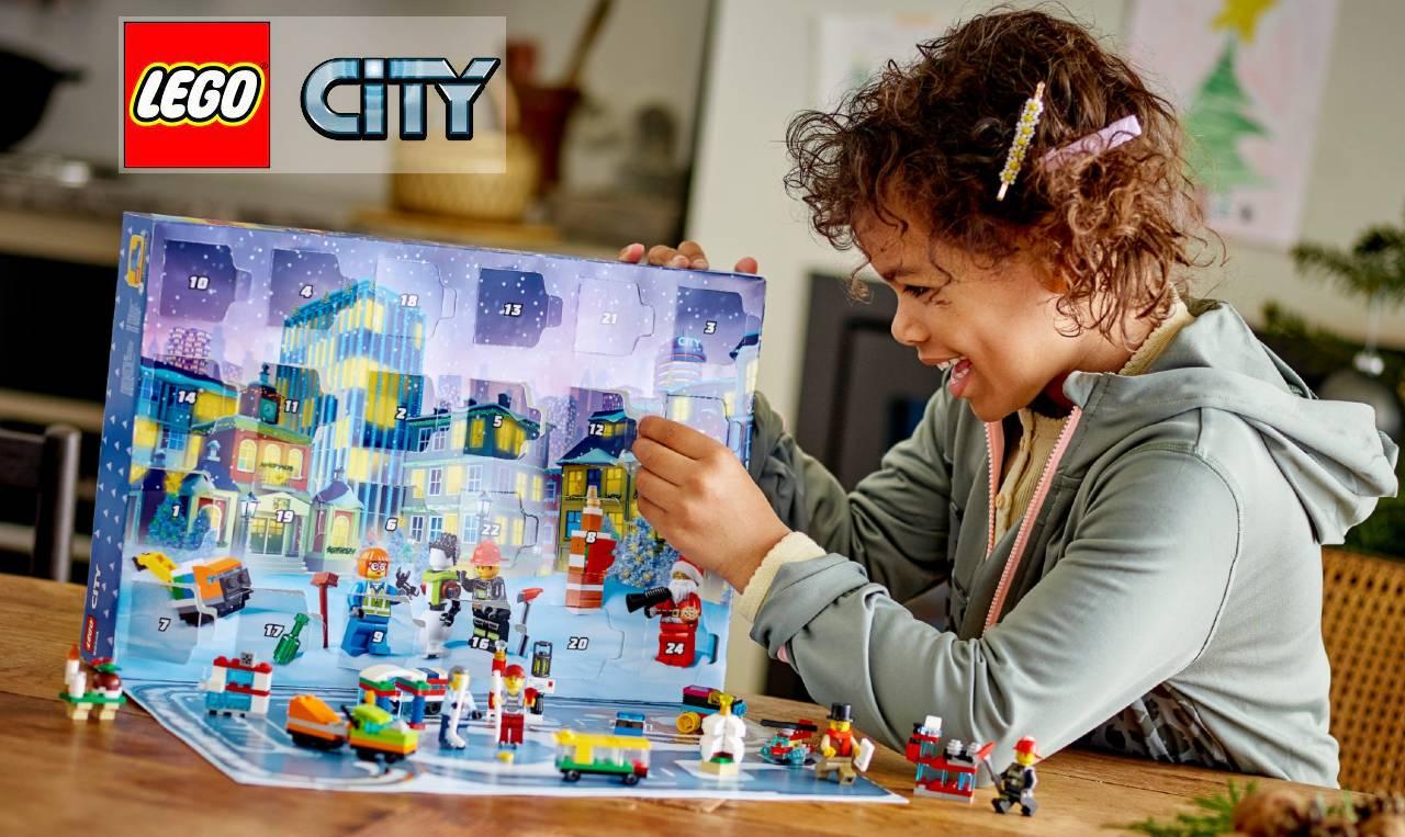 calendario Lego City 2021