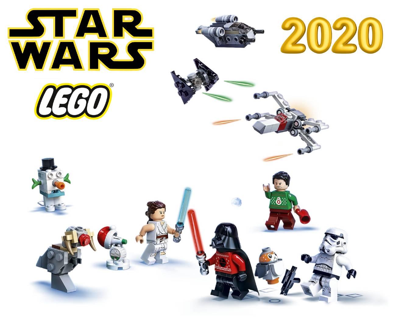 figuras de Lego de la Guerra de las Galaxias