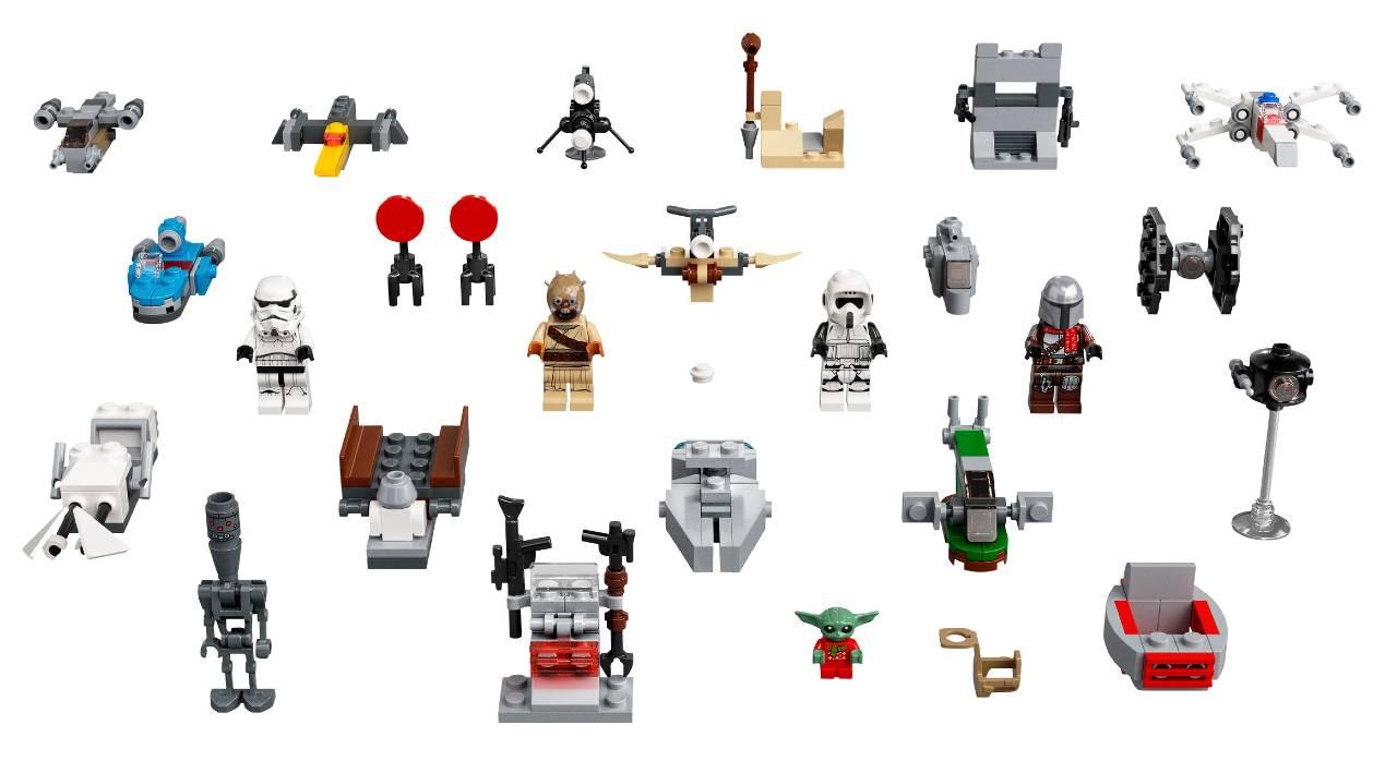 calendario Star Wars Lego 2021