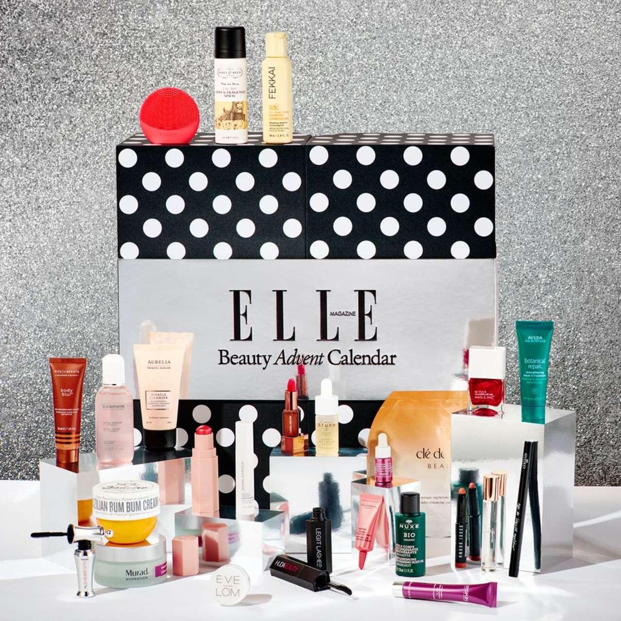 calendario adviento belleza Elle 2021