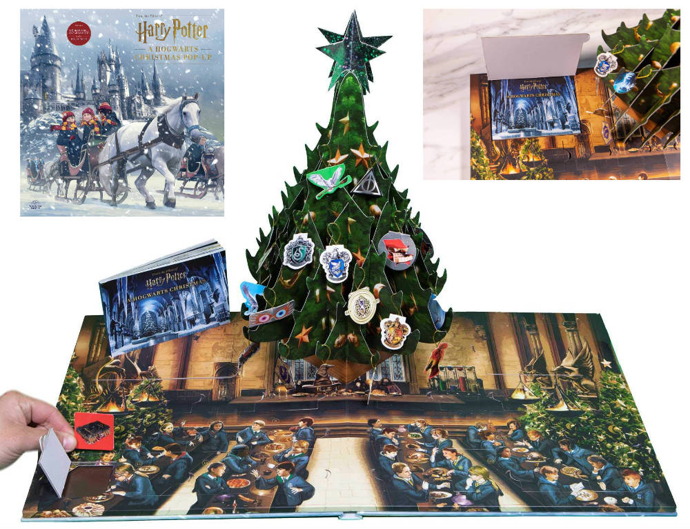 Calendario Adviento Harry Potter libro pop up
