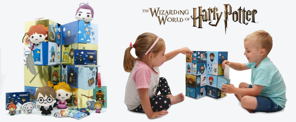 calendario adviento harry potter wizarding world 2019