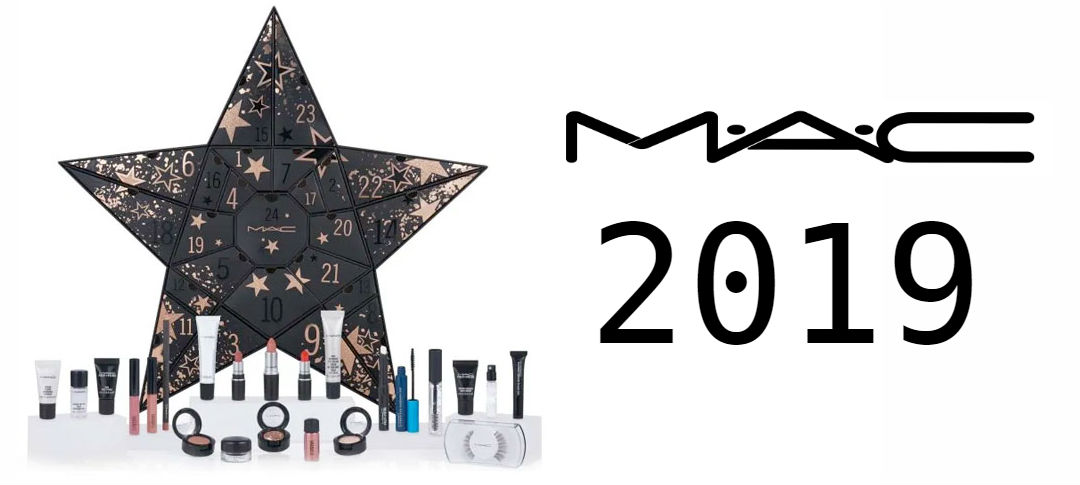 calendario adviento mac cosmetics 2019