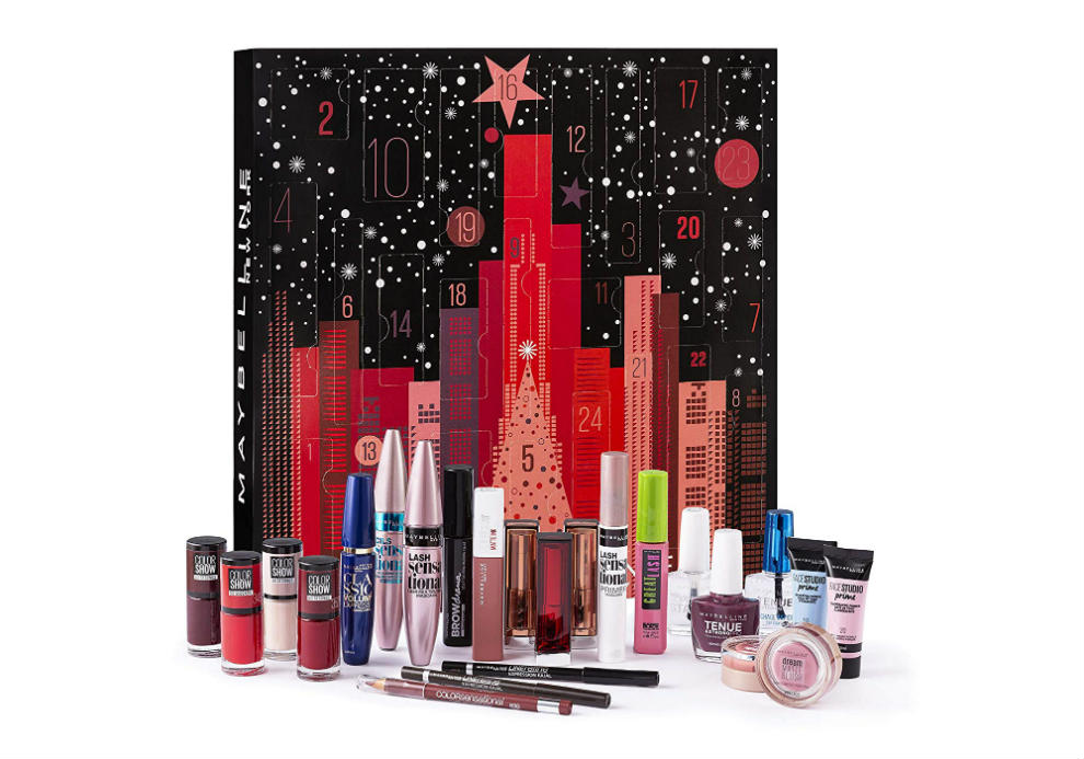 calendario de Adviento Maybelline New York 2019