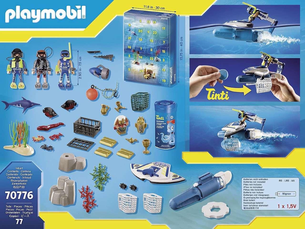 Calendario Adviento Playmobil 2021